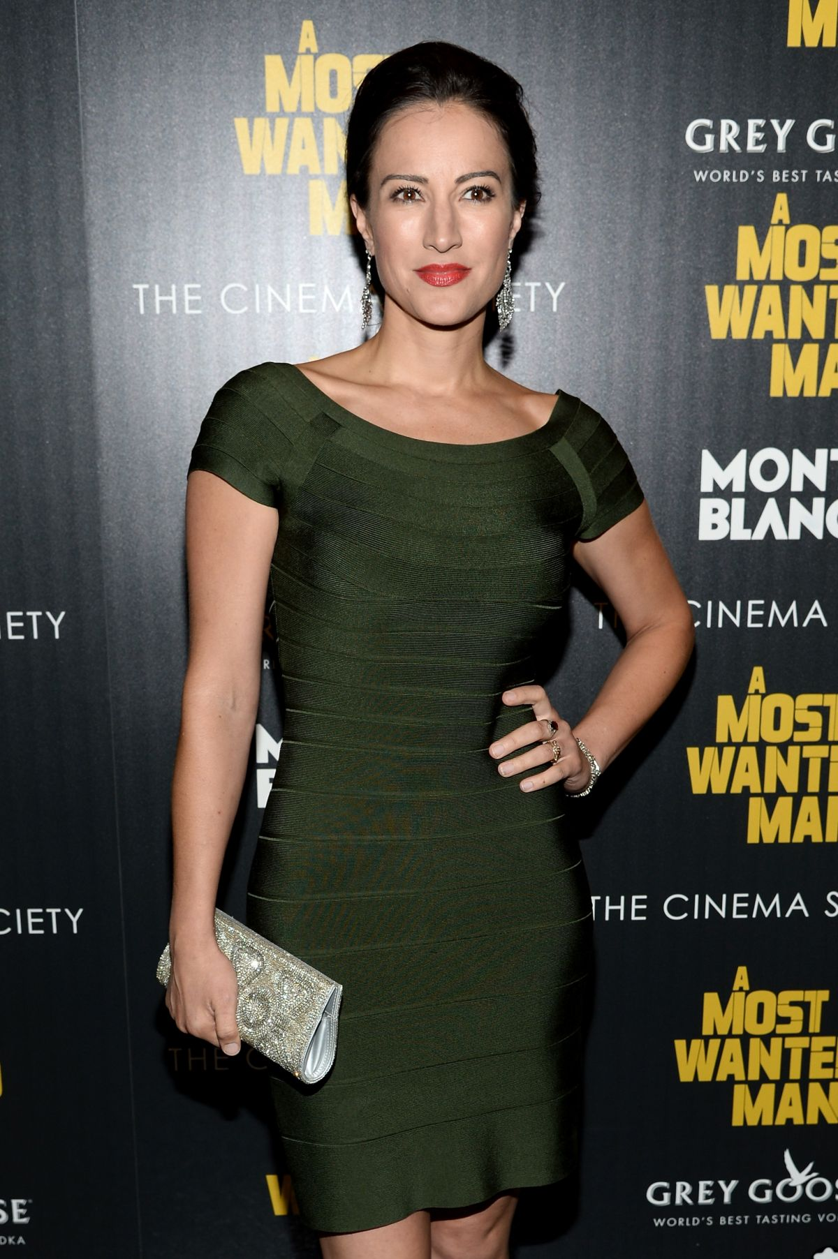 AMERICA OLIVO at A Most Wanted Man Premiere in New York