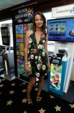 AMY ACKER at Nintendo Lounge at Comic-con in San Diego