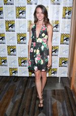 AMY ACKER at Person of Interest Panel at Comic-con in San Diego