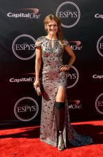 AMY PURDY at 2014 ESPYS Awards in Los Angeles
