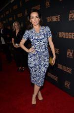 ANA DE LA REGUERA at The Bridge Season 2 Premiere in West Hollywood