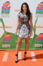ANA VILLAFANE 2014 Kid's Choice Sports Awards in Los Angeles