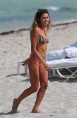 ANASTASIA ASHLEY in Bikini at a Beach in Miami