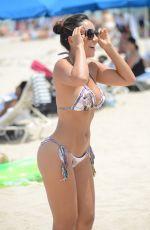 ANDREA CALLE in Bkini at a Beach in Miami