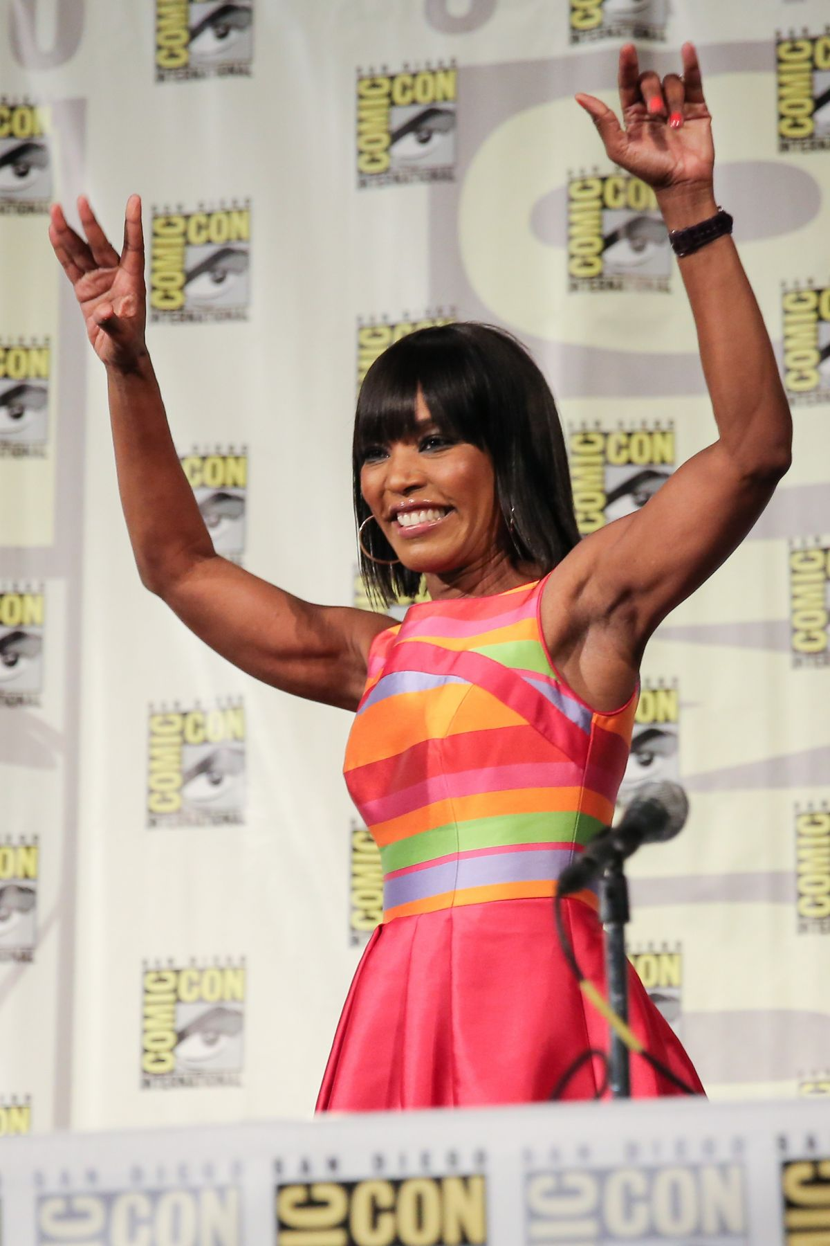 ANGELA BASSETT at American Horror Story: Coven Panel at Comic-con