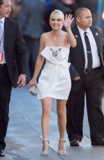 ANNA FARIS Arrives at Jimmy Kimmel Live! in Los Angeles