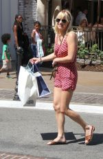 ANNA FARIS Out Shopping in Hollywood