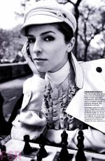 ANNA KENDRICK in Glamour Magazine, August 2014 Issue