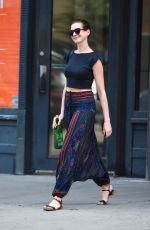 ANNE HATHAWAY Out and About in Brooklyn
