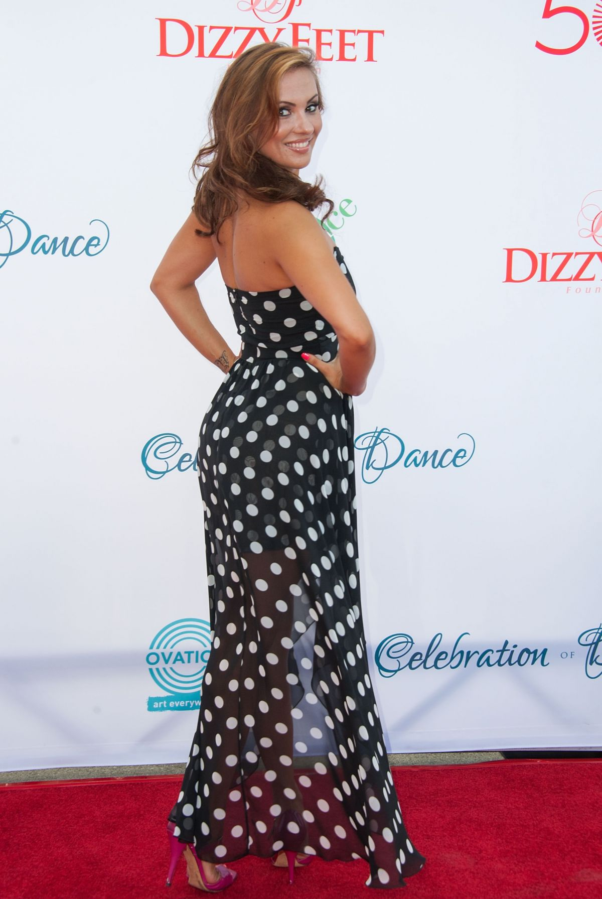 ANYA GARNIS at Celebration of Dance Gala