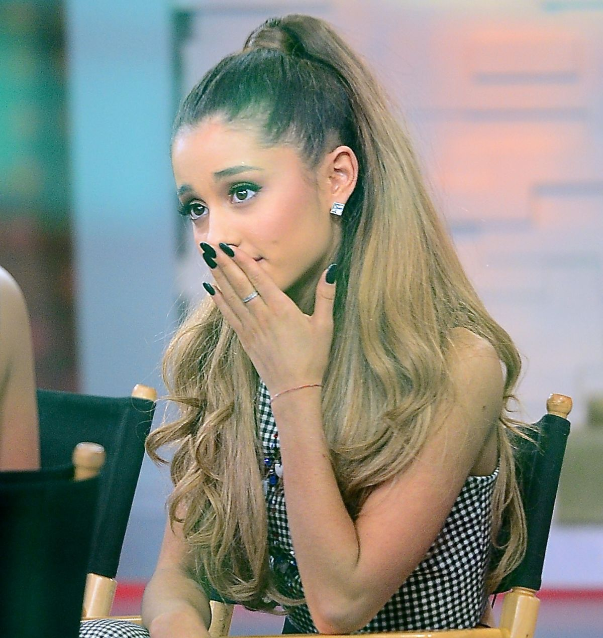 ARIANA GRANDE at Good Morning America in New York