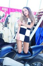 ARIANA GRANDE - Jones Crow Photoshoot