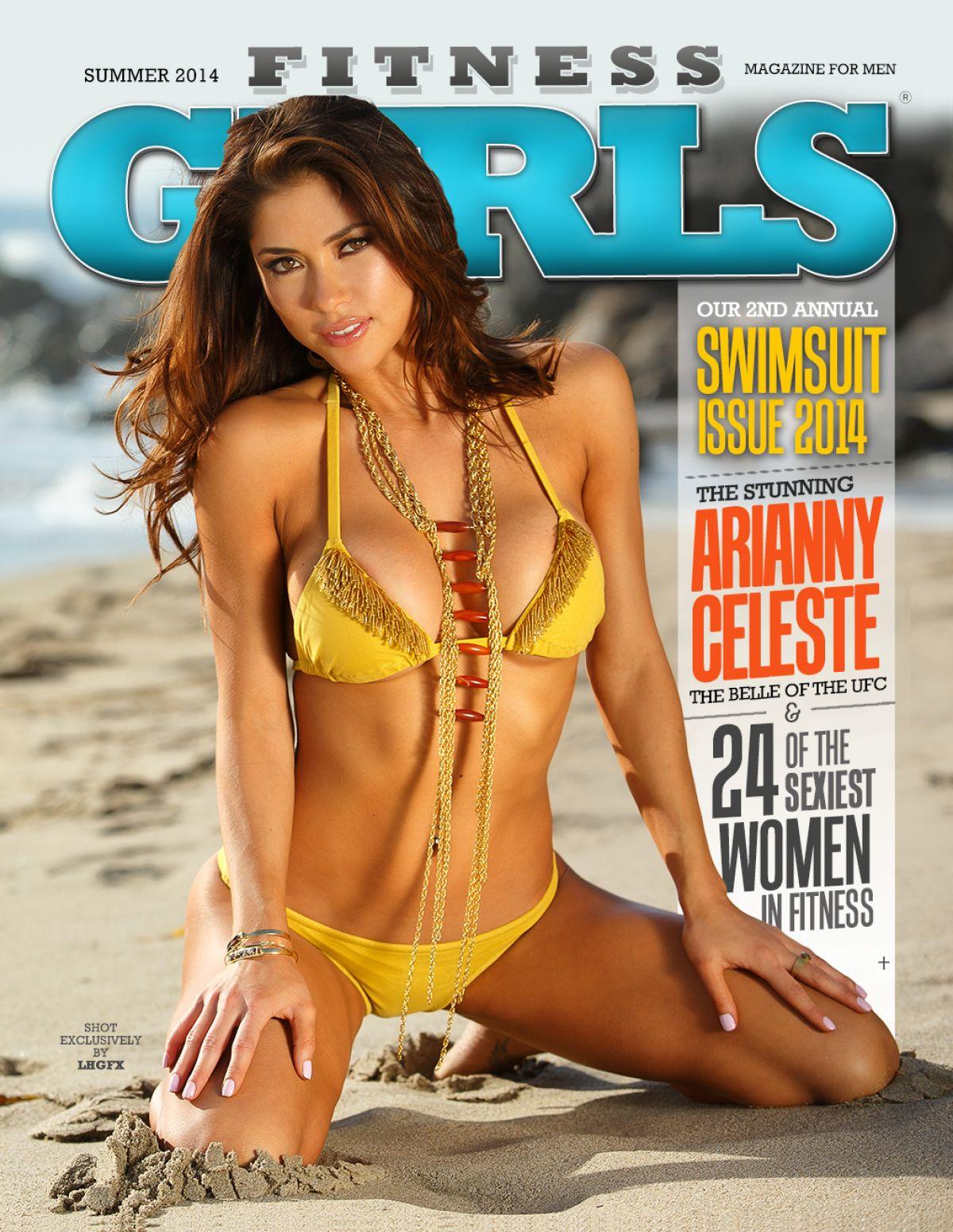 ARIANNY CELESTE in Fitness Gurls Magazine, July 2014 Issue