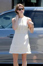 ASHLEY GREENE Arrives at Urth Caffe in Beverly Hills