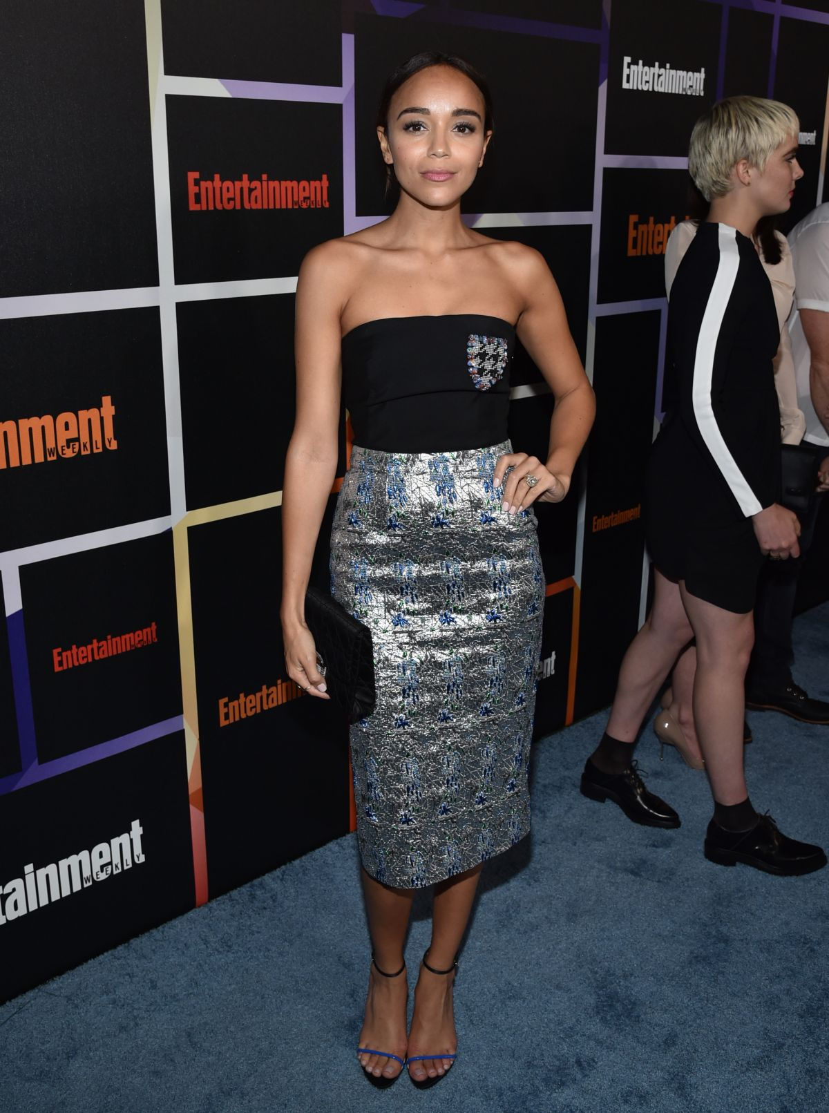 ASHLEY MADEKWE at Entertainment Weekly's Comic-con Celebration