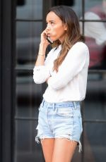 ASHLEY MADEKWE at the Bowery Hotel in New York