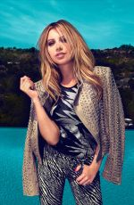ASHLEY TISDALE in Bello Magazine, August 2014 Issue