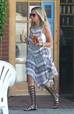 ASHLEY TISDALE Out and About in Toluca Lake