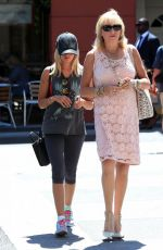 ASHLEY TISDALE Out for Lunch in Beverly Hills