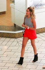 ASHLEY TISDALE Out Shopping in Beverly Hills