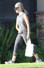 ASHLEY TISDALE Out Shopping in Los Angeles