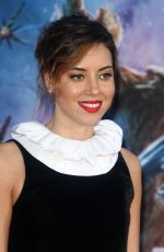 AUBREY PLAZA at Guardians of the Galaxy Premiere in Hollywood