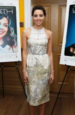 AUBREY PLAZA at Life After Beth Screening in New York