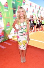 AUDREY WHITBY 2014 Kid's Choice Sports Awards in Los Angeles