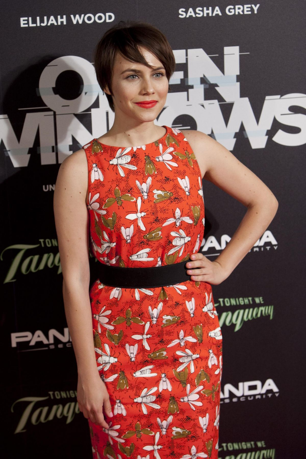 AURA GARRIDO at Open Windows Premiere in Madrid