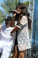 BECKY G at Mackapoolooza in Miami