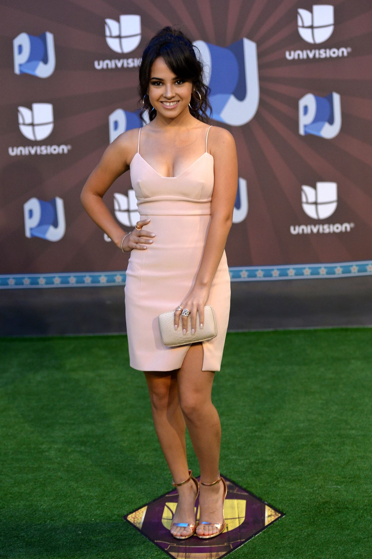 BECKY G at Premios Juventud 2014 in Coral Gables