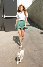BELLA THORNE at the Grove in Los Angeles