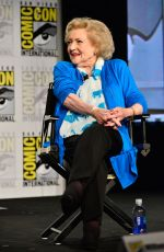 BETTY WHITE at Legends of TV Land Panel at Comic-con 2014 in San Diego