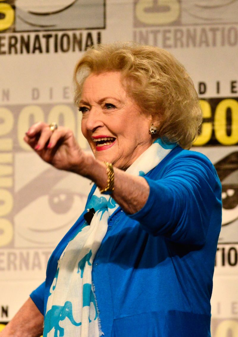 Betty White 2014 BETTY WHITE at Legends of TV