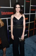 BITSIE TULLOCH at Entertainment Weekly's Comic-con Celebration