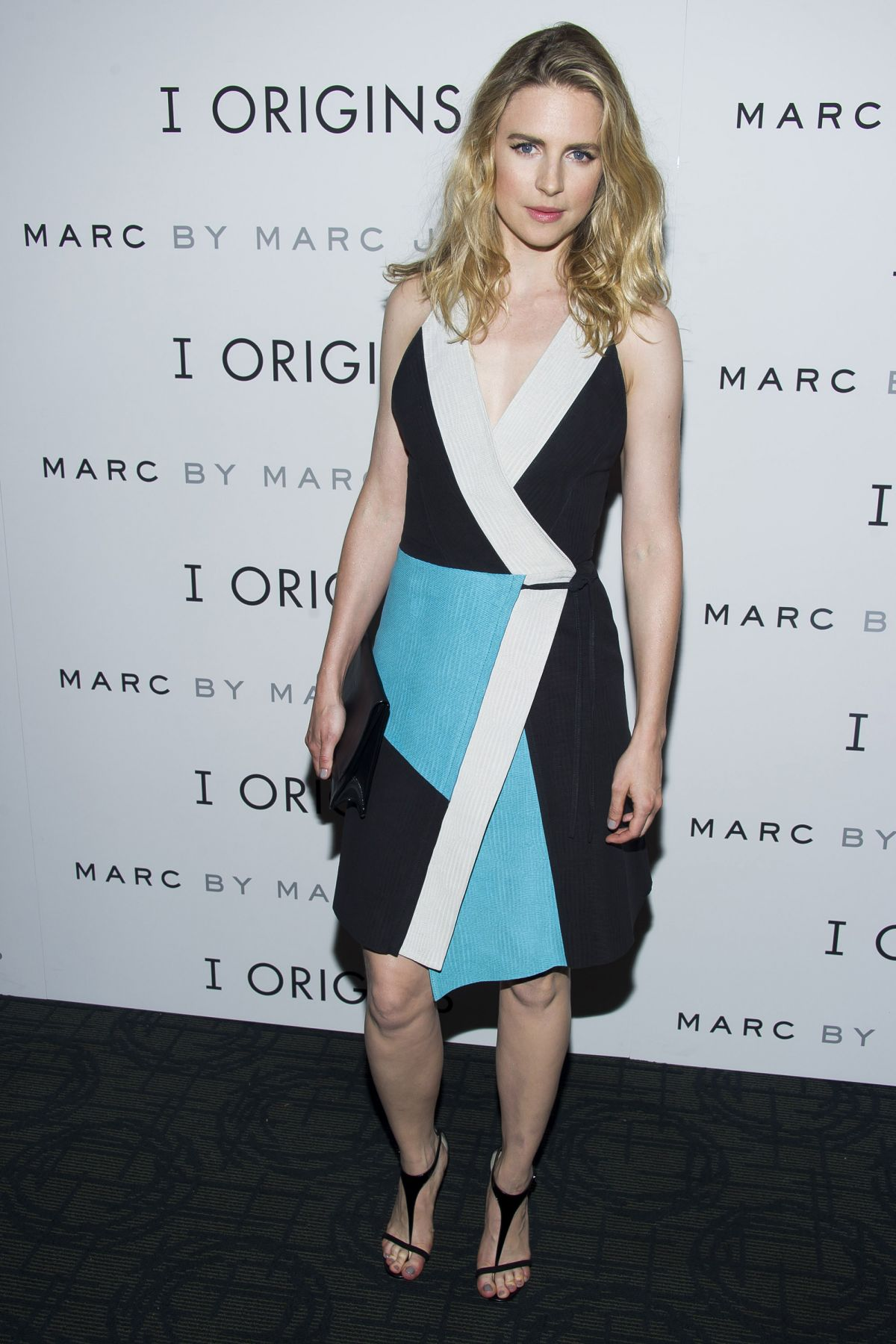 BRIT MARLING at I Origins Premiere in New York
