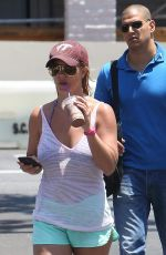 BRITNEY SPEARS Leaves a Coffe Bean in Los Angeles