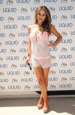 BRITTNEY PALMER at UFC Pool Party in Las Vegas