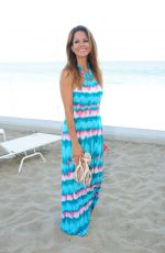 BROOKE BURKE at a Photoshoot on the Beach in Malibu