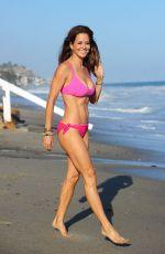 BROOKE BURKE in Bikini at a Beach in Malibu