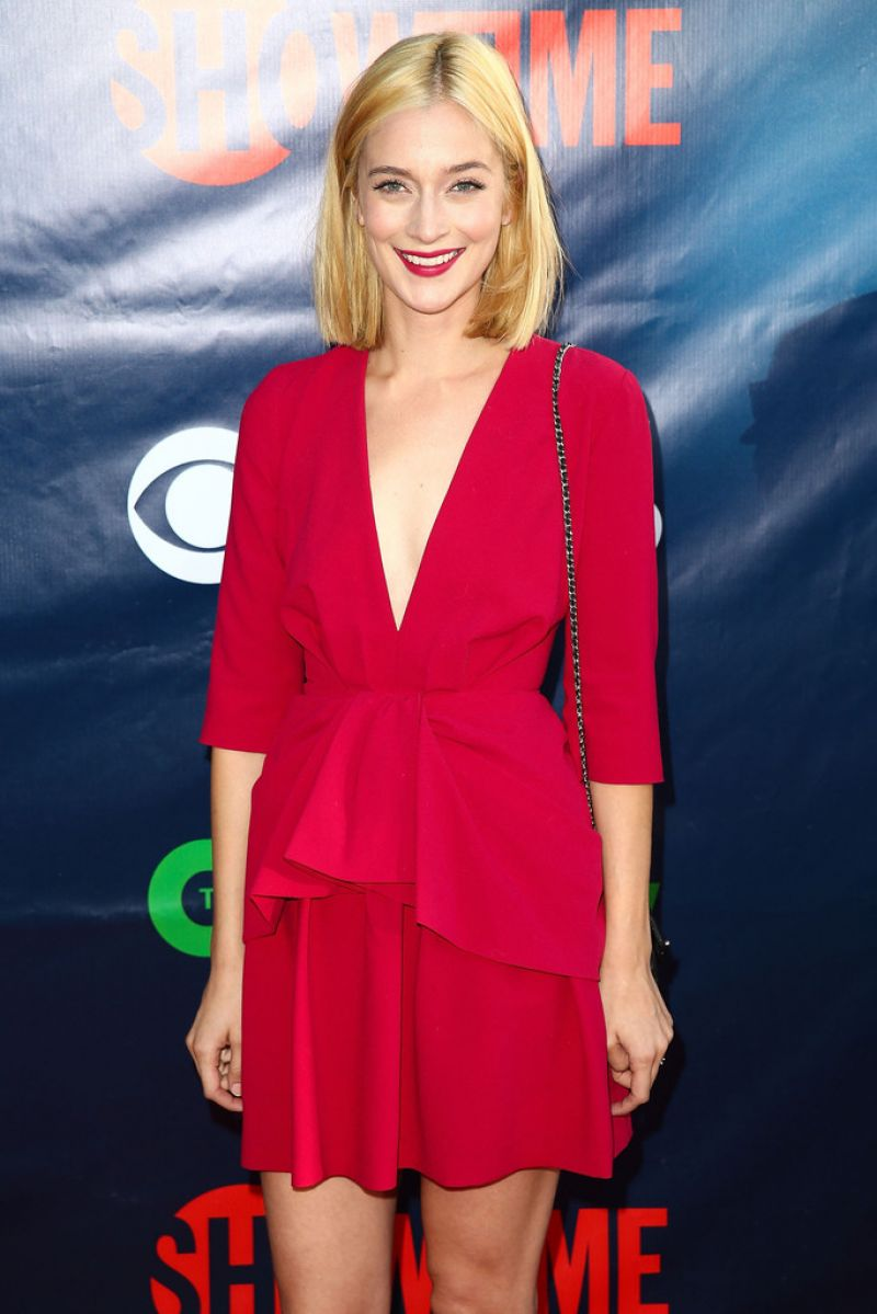 CAITLIN FITZGERALD at CBS 2014 TCA Summer Tour