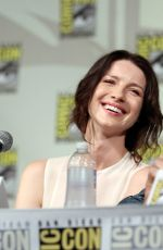 CAITRIONA BALFE at Outlander Panel at Comic-con in San Diego