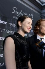 CAITRIONA BALFE at Outlender Panel at Comic-con in San Diego
