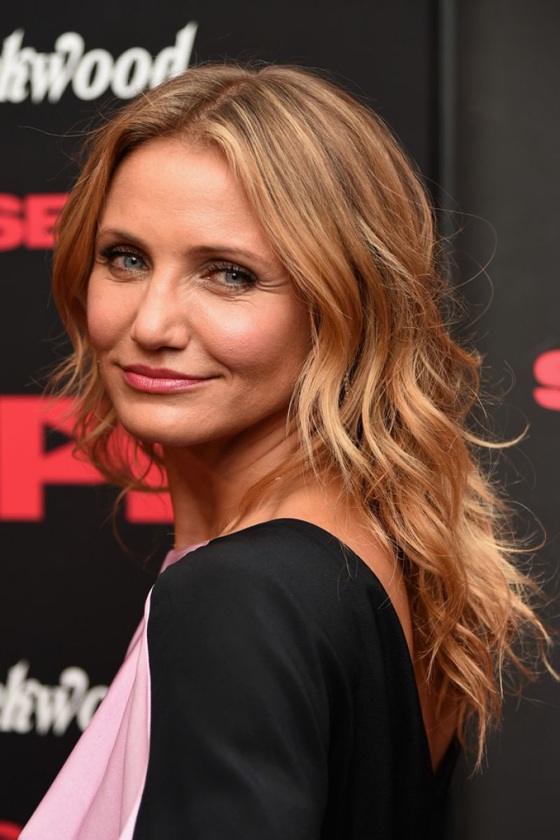 CAMERON DIAZ at S.x Tape Premiere in New York
