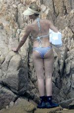 CAMERON DIAZ in Bikini at a Beach in Sardinia