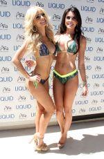 CAMILA OLIVEIRA at UFC Pool Party in Las Vegas