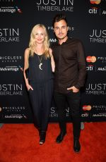 CANDICE ACCOLA at Justin Timberlake Concert in New York
