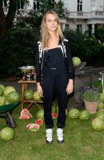 CARA DELEVINGNE at Club Monaco Summer Party in London