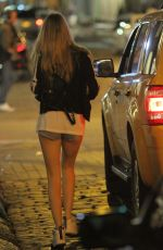 CARA DELEVINGNE Catching a Cab Out in New York