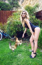 CARMEN ELECTRA in Galore Magazine, Summer 2014 Issue
